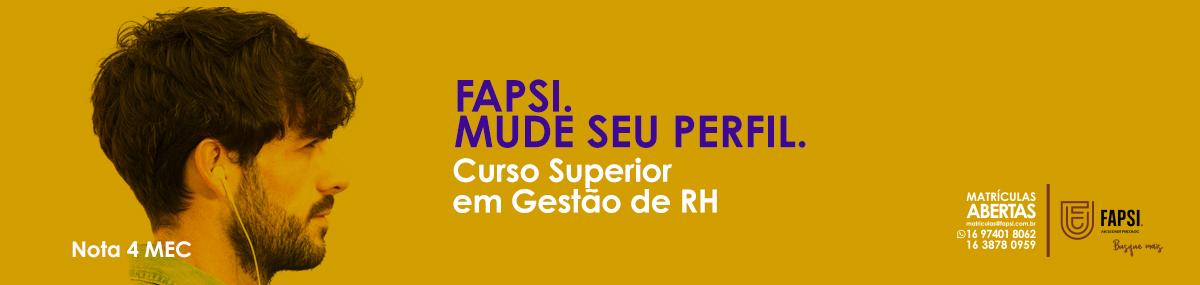 Graduação em Gestão de Recursos humanos FAPSI - Faculdade Psicolog